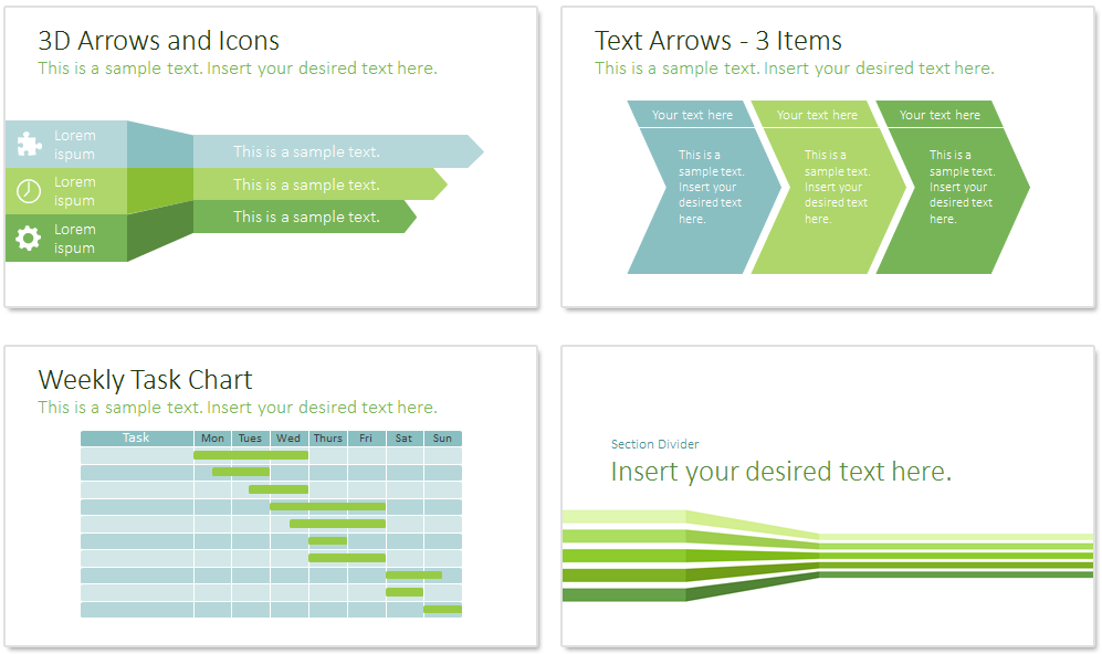sustainability powerpoint template