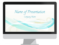 Abstract Watercolor PowerPoint Template