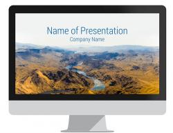 Mountain Landscape PowerPoint Template