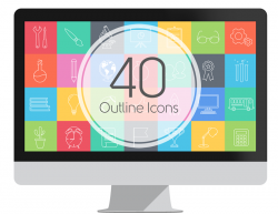 40 Outline Icons