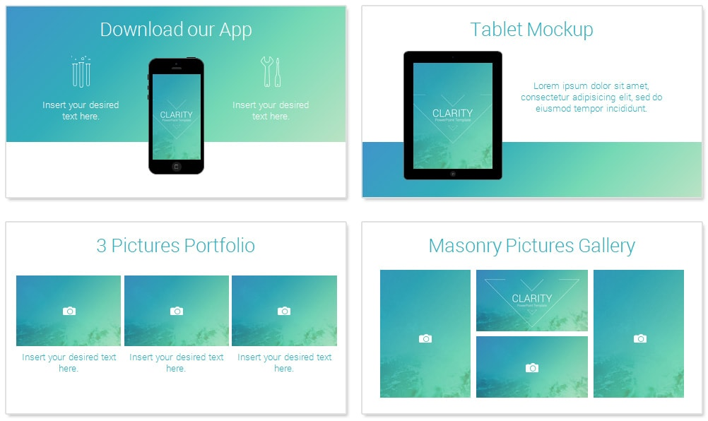 clarity powerpoint template