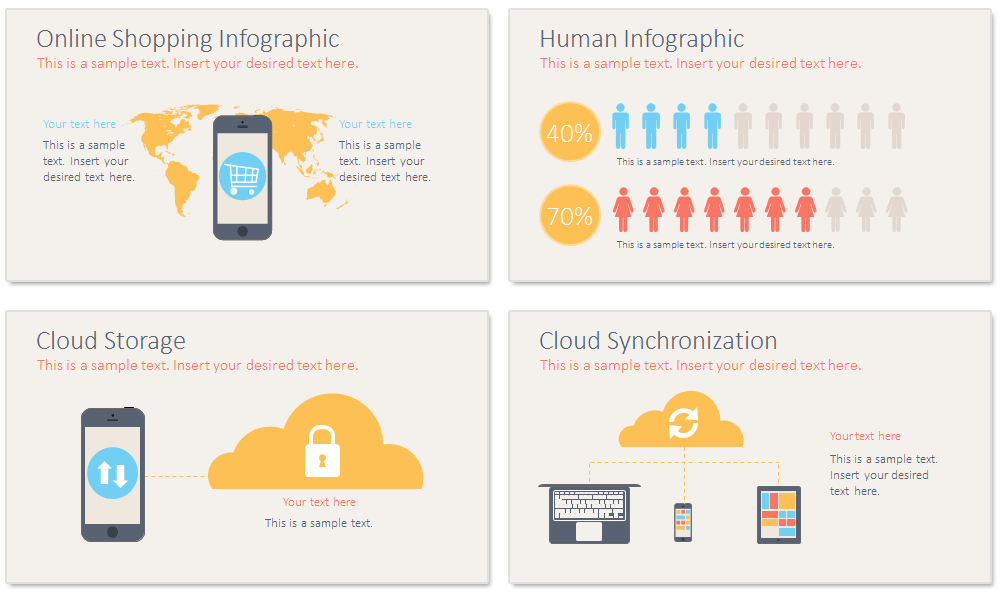 Mobile Technology PowerPoint Template - PresentationDeck