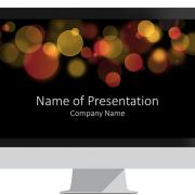 Bokeh PowerPoint Template