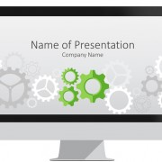 Gear Wheels PowerPoint Template