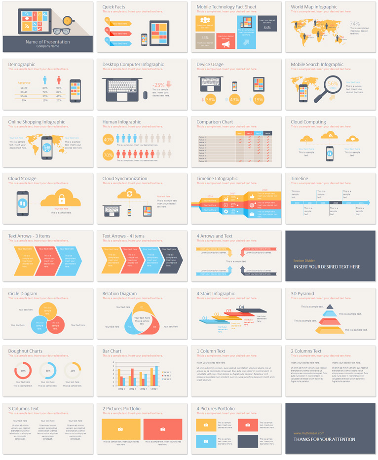 Mobile Technology PowerPoint Template PresentationDeck – Product Description Template
