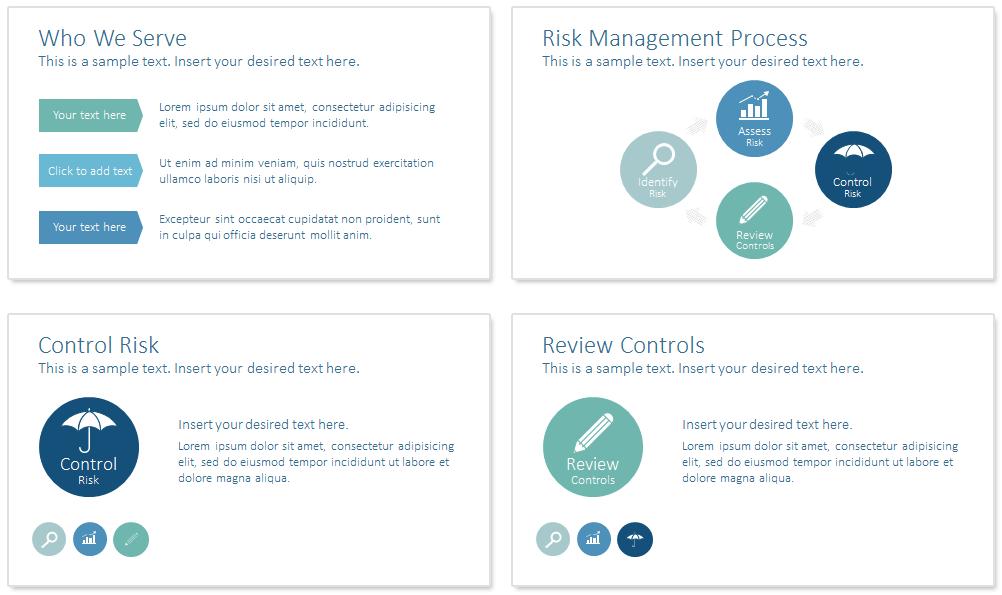 risk management powerpoint template   presentationdeck