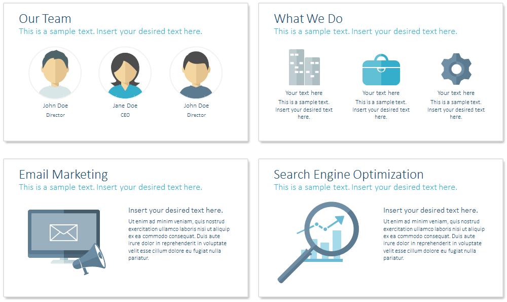 Digital Marketing PowerPoint Template - PresentationDeck.com