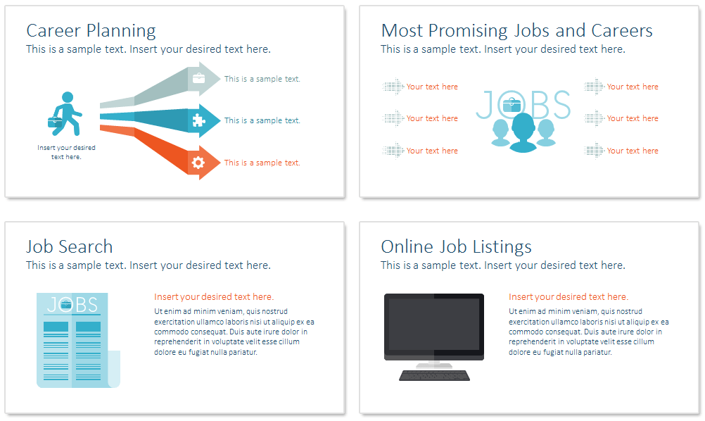 career powerpoint template
