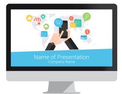 digital marketing powerpoint template - presentationdeck, Digital Marketing Presentation Template, Presentation templates