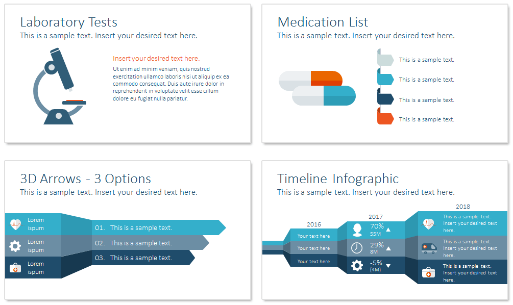 healthcare powerpoint template presentationdeckcom