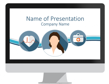 Healthcare powerpoint template presentationdeck toneelgroepblik Image collections