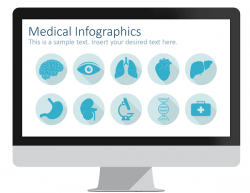 Healthcare powerpoint template presentationdeck medical infographics for powerpoint toneelgroepblik Choice Image