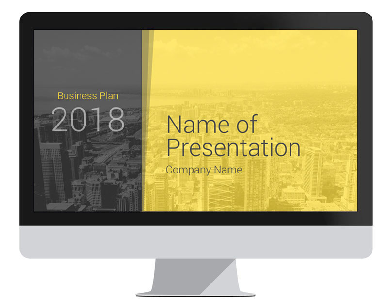 Modern Business Plan Powerpoint Template  PresentationdeckCom