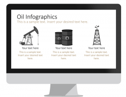 Oil Infographics for PowerPoint