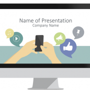 Social Signals PowerPoint Template