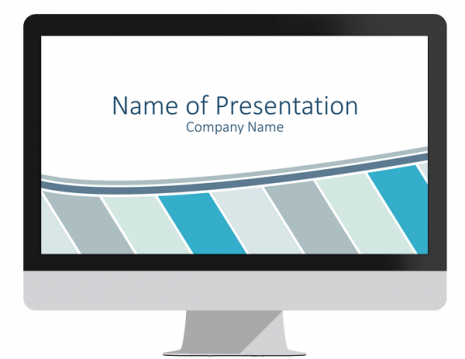 Stripes PowerPoint Template