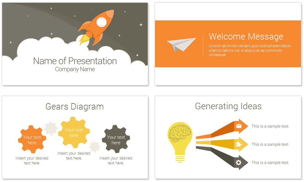 what is a template in powerpoint - rocket powerpoint template