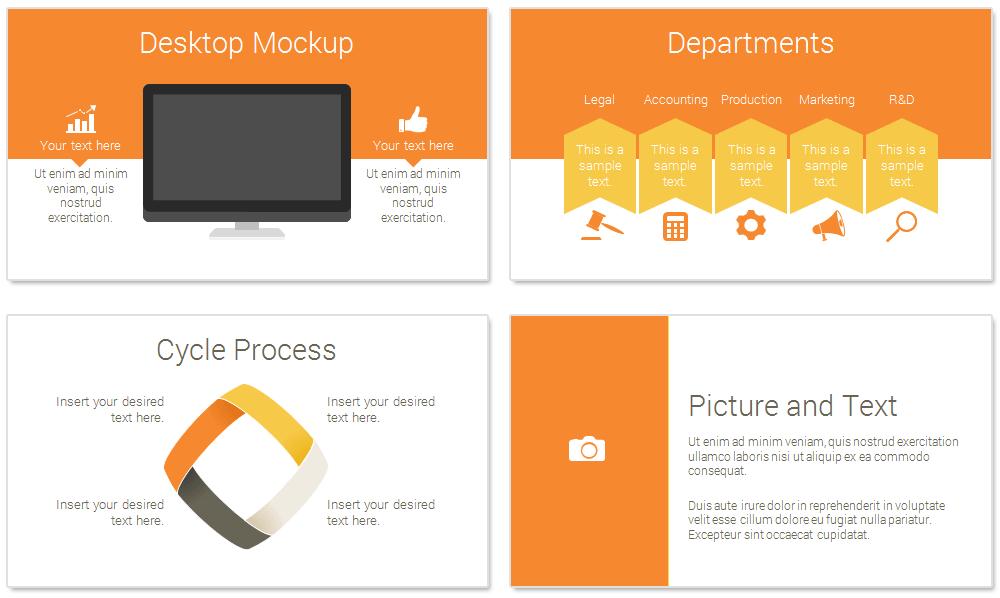 rocket powerpoint template