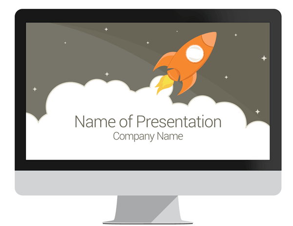 Rocket powerpoint template presentationdeck rocket powerpoint template toneelgroepblik Choice Image