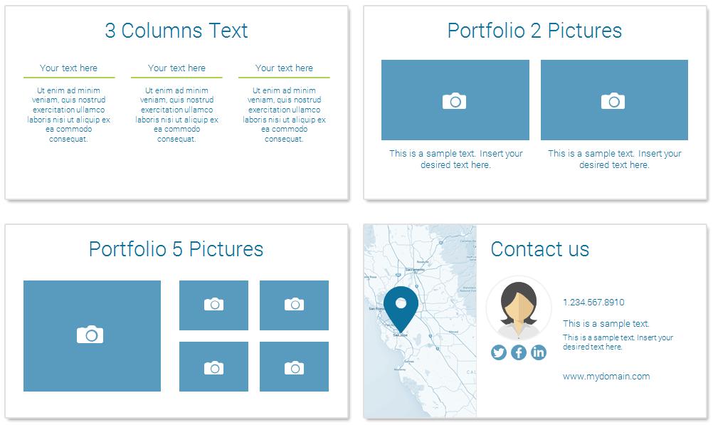 insurance powerpoint template   presentationdeck