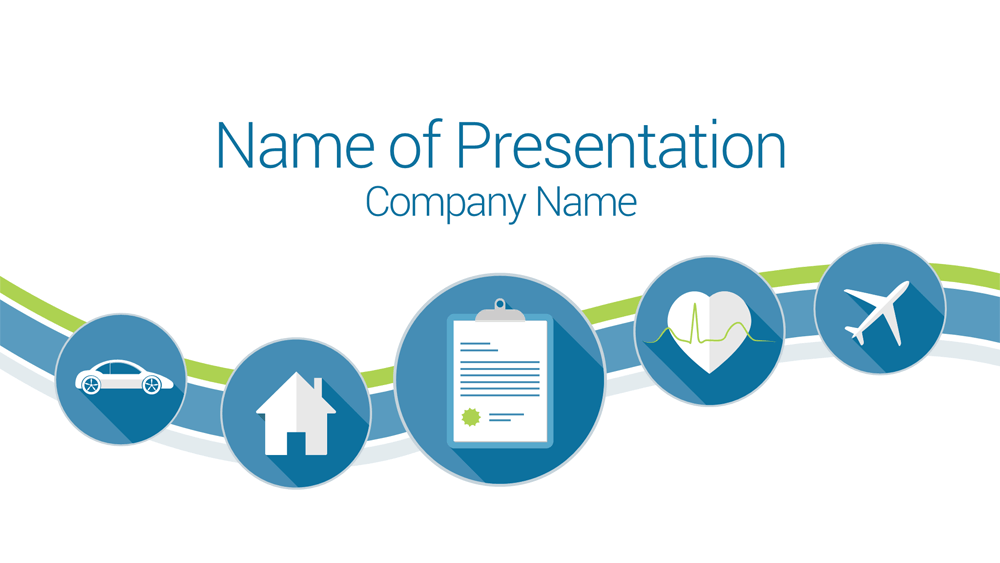 insurance powerpoint presentation templates  Insurance PowerPoint Template - PresentationDeck.com