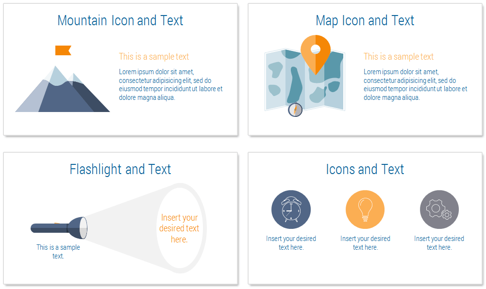 Mountain Landscape Powerpoint Template Presentationdeck Com