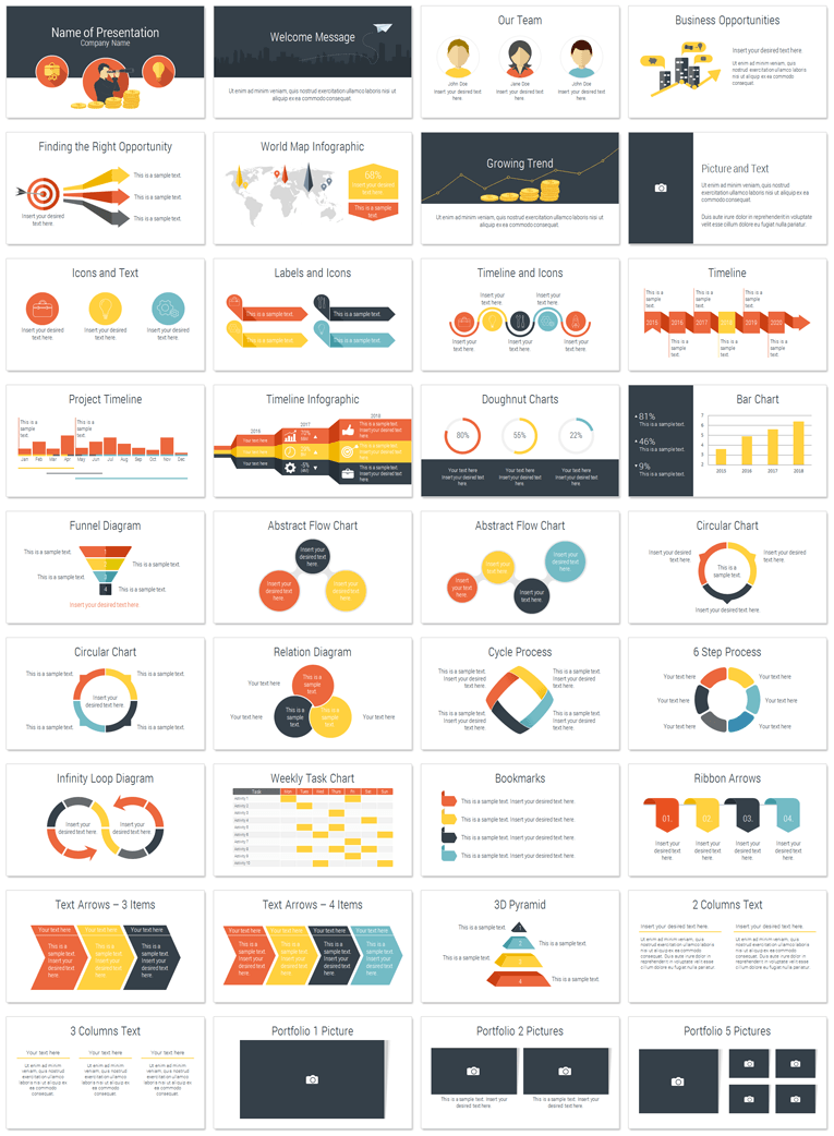 Opportunity powerpoint template presentationdeck opportunity powerpoint template fbccfo Gallery