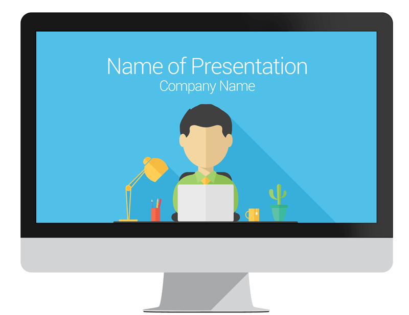 Freelance powerpoint template presentationdeck freelance powerpoint template toneelgroepblik Image collections