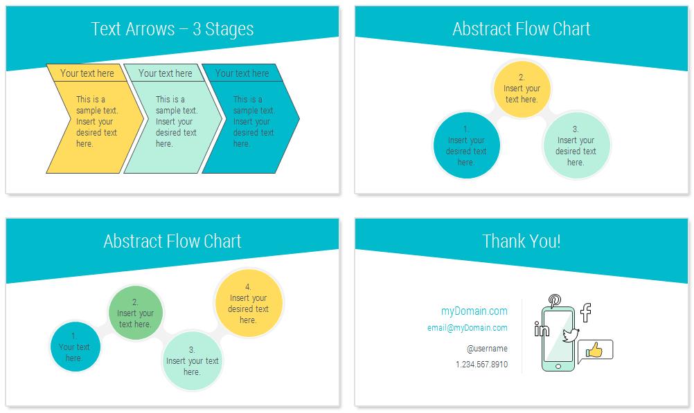 Online Marketing PowerPoint Template - PresentationDeck.com