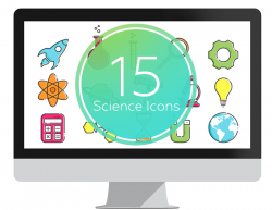Science Icons for PowerPoint