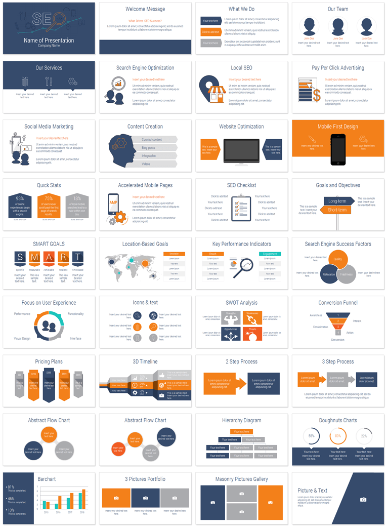 Presentation template for powerpoint idealstalist seo powerpoint template presentationdeck com toneelgroepblik Image collections