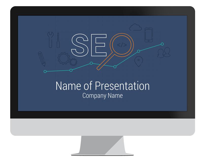 Seo powerpoint template presentationdeck seo powerpoint template toneelgroepblik Choice Image