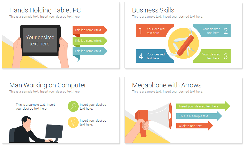 Business Infographics For Powerpoint Presentationdeck Com