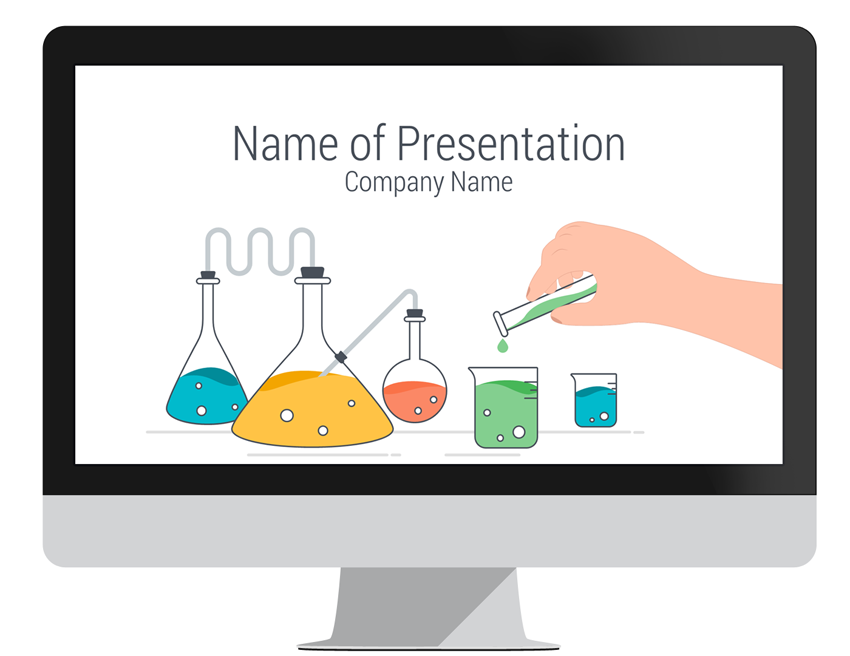science powerpoint template - presentationdeck, Presentation templates