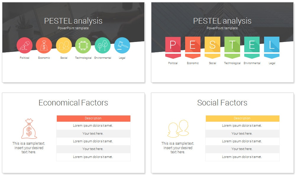 Pestel Analysis Powerpoint Template  PresentationdeckCom
