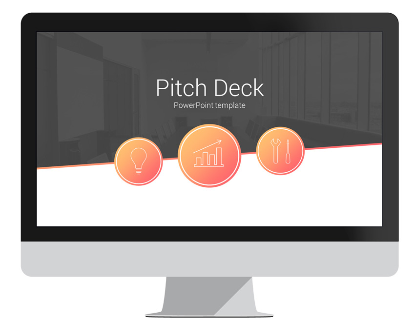 pitch deck powerpoint template presentationdeckcom