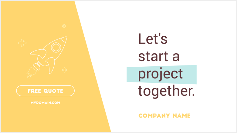 Let's start a project together.