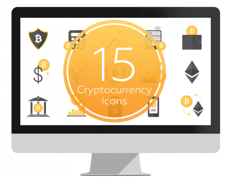 Cryptocurrency backgrounds for powerpoint
