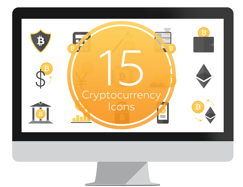 cryptocurrency icons for powerpoint presentationdeck com