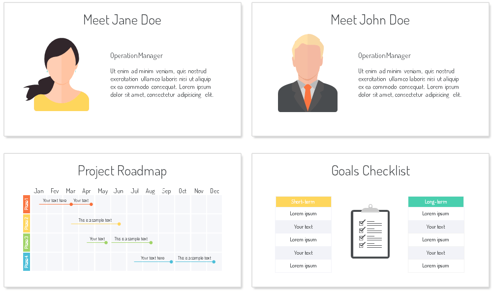 staff meeting powerpoint template presentationdeck com