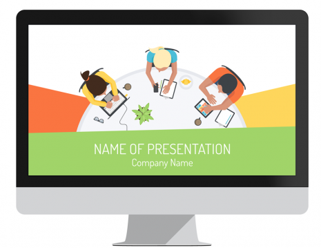 Meeting PowerPoint Template