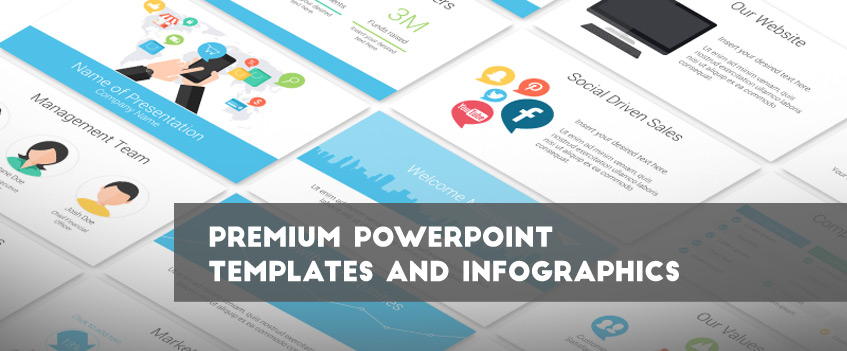 presentation deck powerpoint templates and infographics